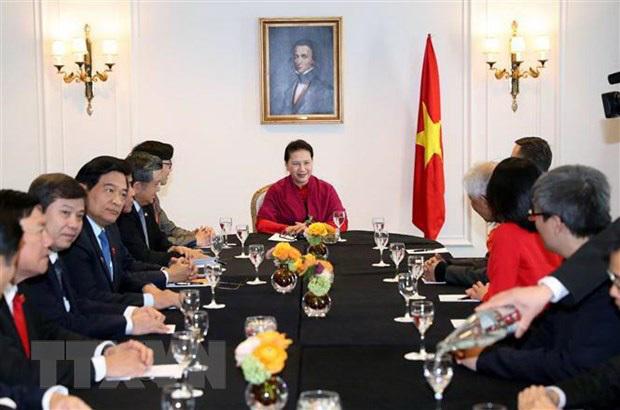 người Việt,diễn đàn người Việt có tầm ảnh hưởng,Chủ tịch Quốc hội,Nguyễn Thị Kim Ngân