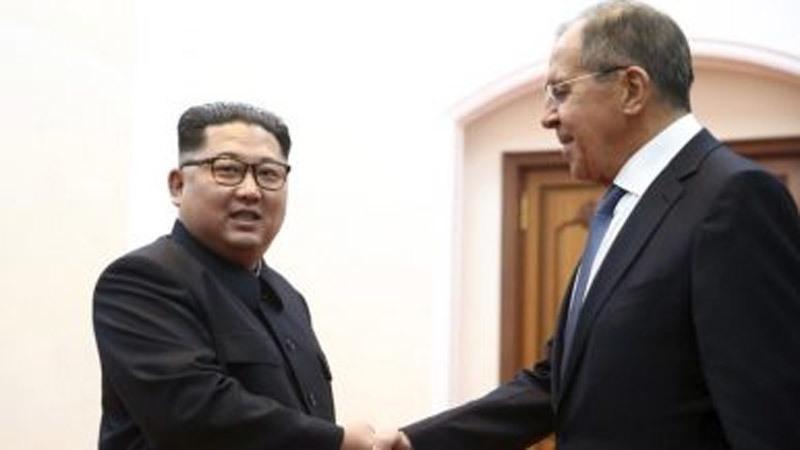Triều Tiên,Nga,Kim Jong Un,Vladimir Putin