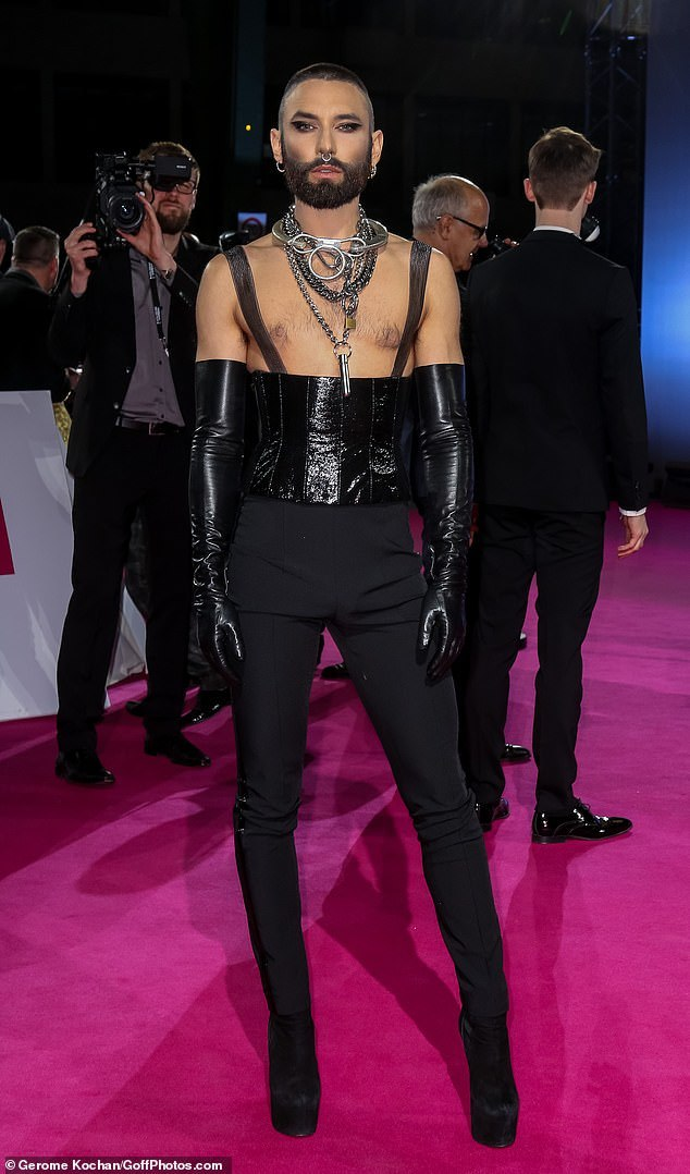 Conchita Wurst,Golden Camera,sao Hollywood