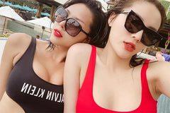 Những cặp sao nữ nóng bỏng bị đồn yêu đồng giới của showbiz Việt
