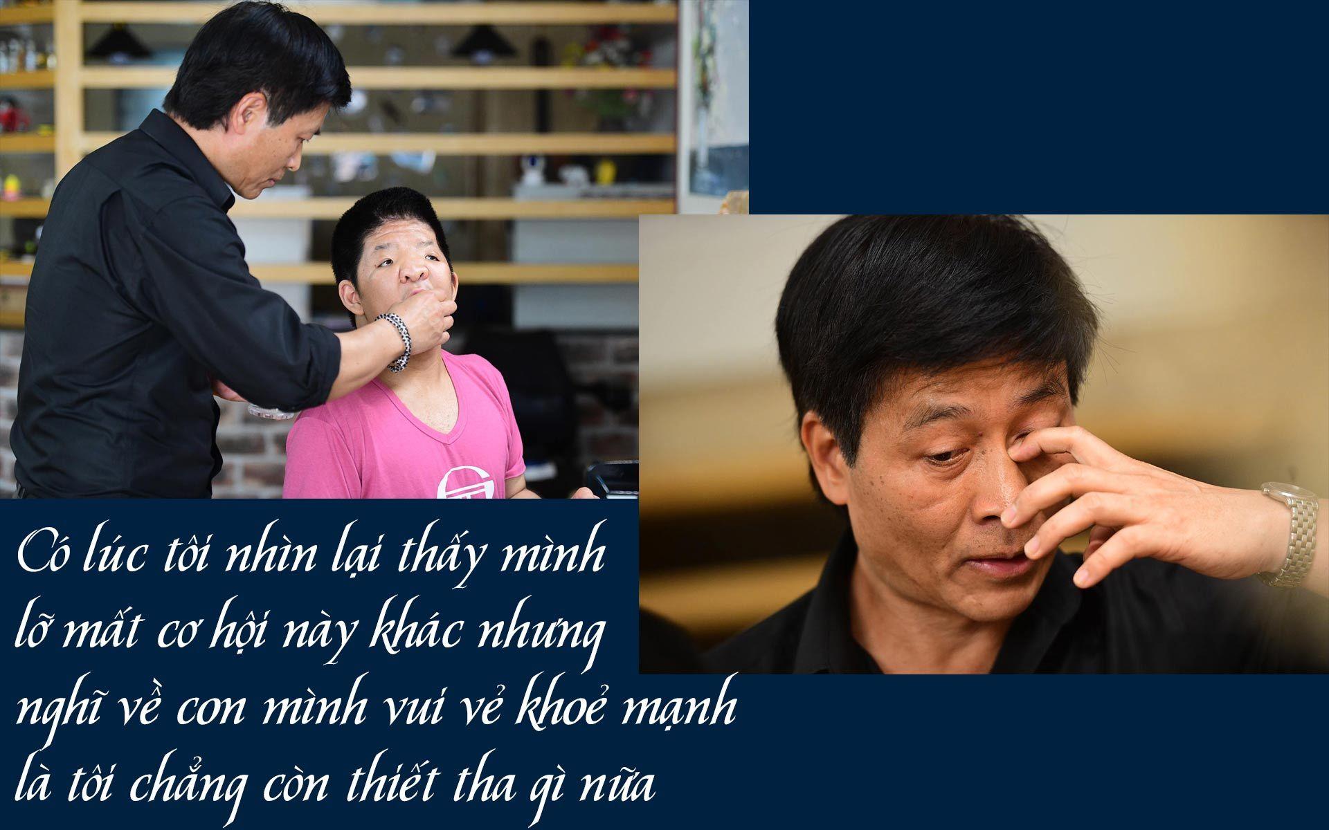 Quốc Tuấn: Không ai muốn đưa bệnh tật của con mình lên báo cả...