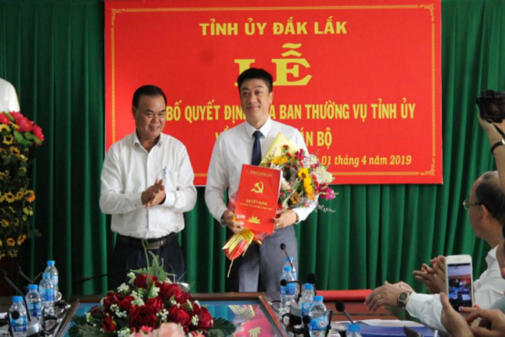 Buôn Ma Thuột có tân Bí thư Thành ủy sinh năm 1975