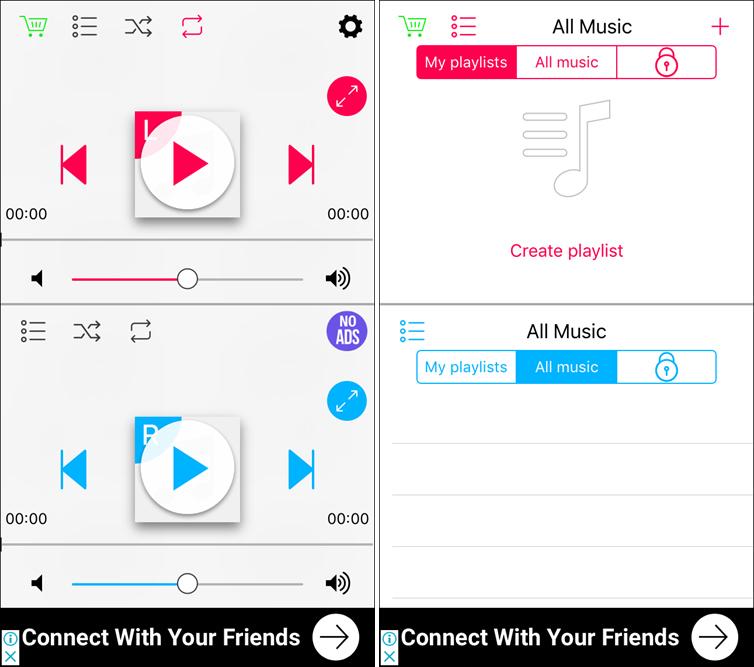 Cách nghe 2 bài hát cùng lúc trên một iPhone duy nhất