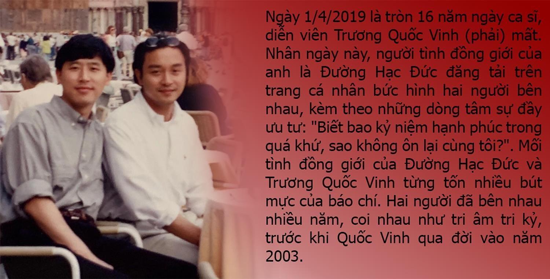Nỗi băn khoăn của Trương Quốc Vinh trước lúc qua đời