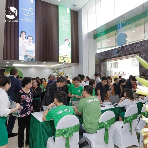 Bệnh viện ĐKQT Thu Cúc khai trương phòng khám 7000m2