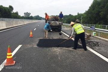 Nhiều sai phạm khiến cao tốc Đà Nẵng - Quảng Ngãi vá chằng, vá đụp