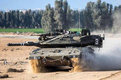 """Xe tăng Merkava - """"Quả đấm thép"""" của quân đội Israel"""