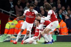 Arsenal vượt MU chiếm vị trí thứ 3 Ngoại hạng Anh