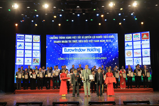 Eurowindow Holding - Top 10 thương hiệu vàng Việt Nam 2019