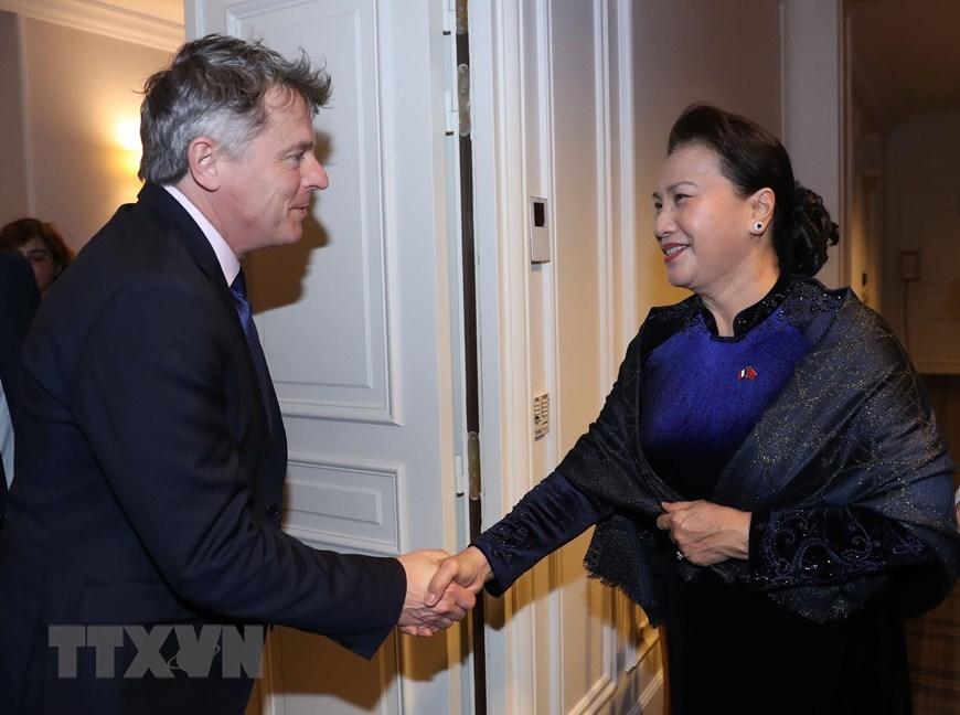 Hoạt động của Chủ tịch QH Nguyễn Thị Kim Ngân tại Pháp