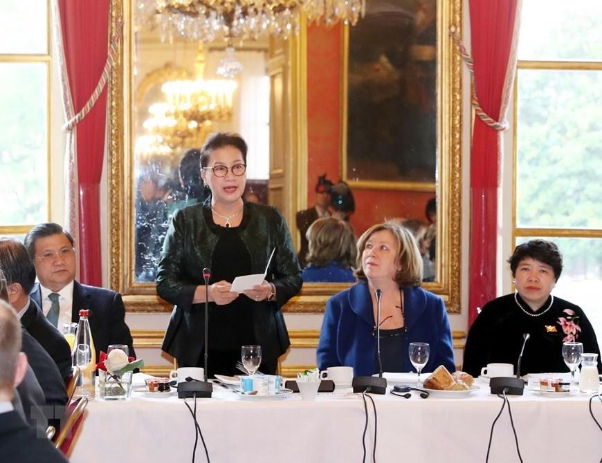 Chủ tịch QH Nguyễn Thị Kim Ngân,Nguyễn Thị Kim Ngân,Chủ tịch Quốc hội Nguyễn Thị Kim Ngân,Pháp