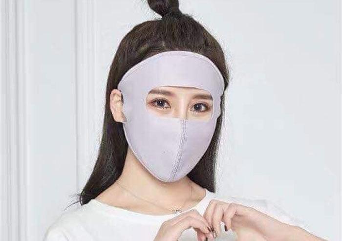 Thời trang ninja mới, chị em đồng loạt đeo ra đường trông quá sợ