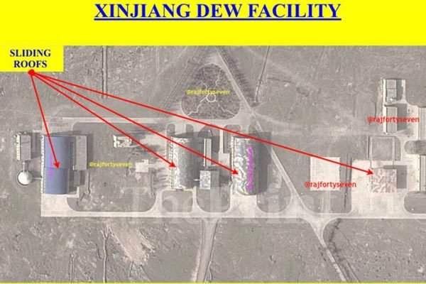 Phát hiện cơ sở chống vệ tinh mật ở Trung Quốc
