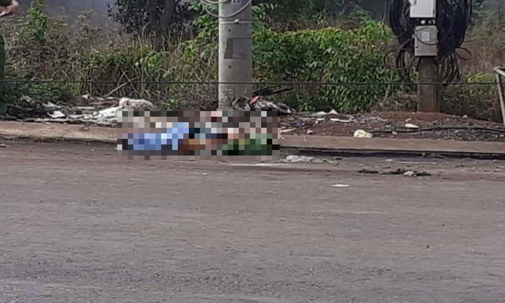Thi thể người phụ nữ nghi bị sát hại gần bãi rác