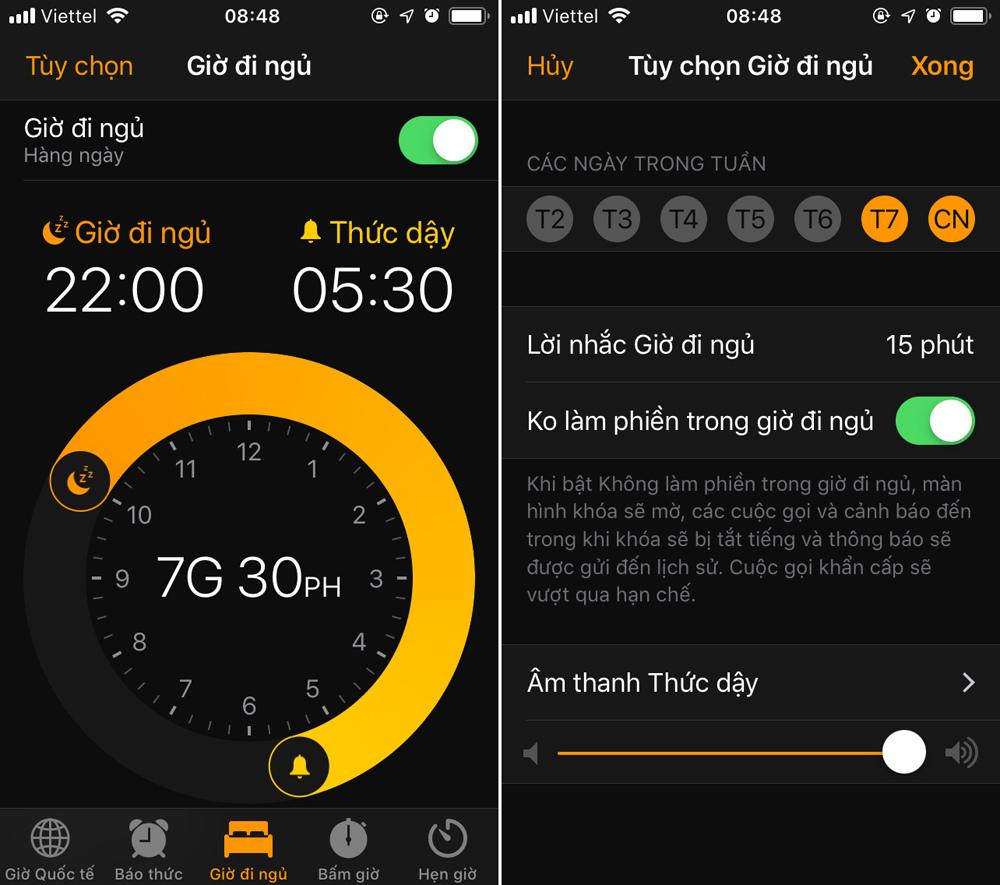Thêm cách cai nghiện smartphone trên iOS 12