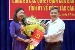 Thị xã Nghĩa Lộ có nữ Bí thư mới
