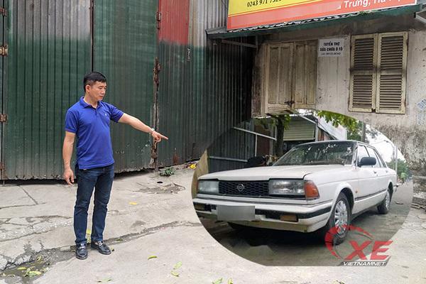 Bỏ quên ô tô 13 năm, ông chủ xuất hiện bắt đền 100 triệu