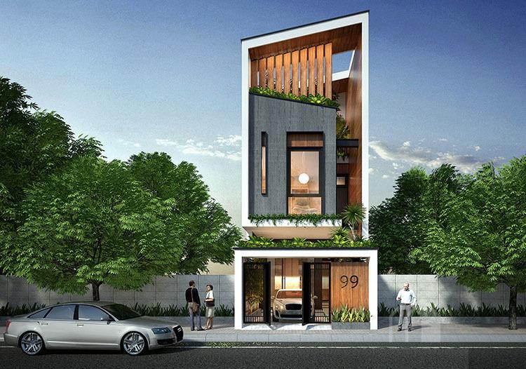 nhà phố,thiết kế nhà phố,nhà đẹp