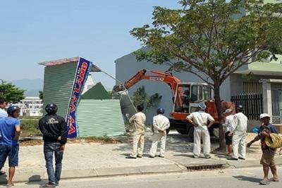 'Sốt' đất ven Đà Nẵng: Hàng trăm ki ốt của cò đất nhận tối hậu thư