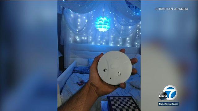 Cặp đôi phát hiện camera quay lén giường ngủ tại nhà trọ