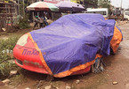 Siêu xe thể thao Porsche lại bị 'bỏ xó' tại Hà Nội