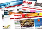 Báo của hội nghề nghiệp thành tạp chí hoặc ngừng hoạt động