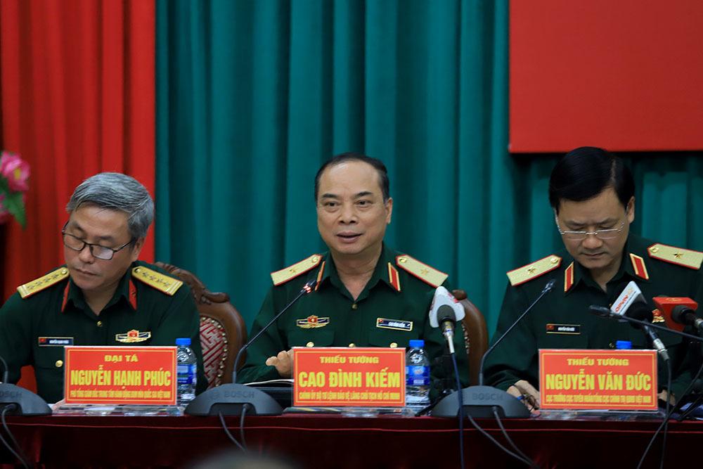 Tướng quân đội kể 50 năm giữ gìn, bảo quản thi hài Bác