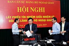 Bộ Ngoại giao lấy phiếu tín nhiệm các thứ trưởng