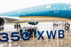 Ra mắt máy bay A350-900 của Vietnam Airlines