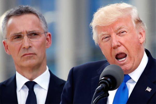 Ông Trump 'kể công' với NATO, lớn tiếng chỉ trích Đức