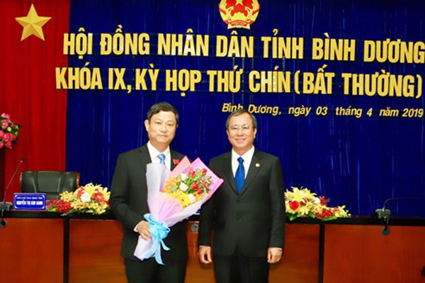Ông Võ Văn Minh làm Chủ tịch HĐND tỉnh Bình Dương