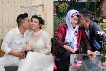 Khoảnh khắc ngọt ngào thuở hò hẹn của Thúy Hiền và chồng mới cưới