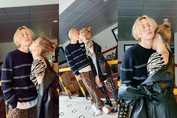 HyunA,Jessie,BLACKPINK,EXO,Super Junior,Hwang Minhyun,NU'EST,Chen,SS501,Roy Kim