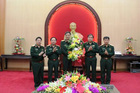 Phó Tư lệnh, Tham mưu trưởng Quân khu 2 được thăng quân hàm Thiếu tướng