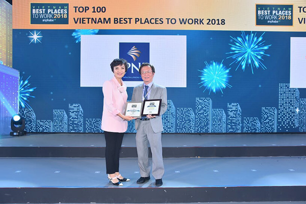 PNJ 5 năm liền vào Top 100 môi trường làm việc tốt nhất VN