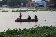 Nam thanh niên bị nước cuốn mất tích trên sông Sài Gòn