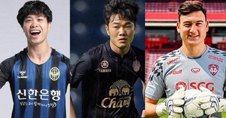 Công Phượng,Xuân Trường,Lương Xuân Trường,Đặng Văn Lâm,K-League,Thai-League