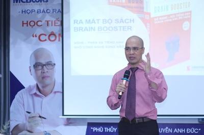 Ra mắt bộ sách học tiếng Anh bằng công nghệ sóng não lần đầu tiên ở Việt Nam
