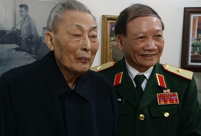 Trung tướng Đồng Sỹ Nguyên,đường Trường Sơn