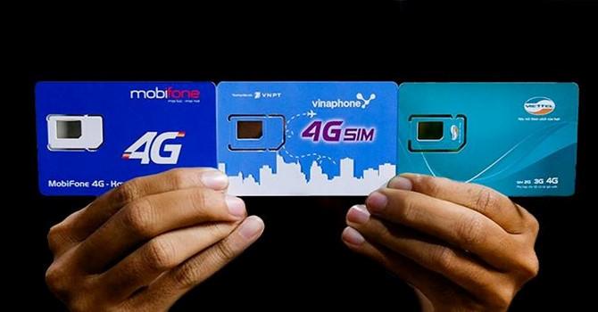 Viettel,MobiFone,VinaPhone,Viễn thông,Nhà mạng,Internet,Internet Việt Nam,4G,5G