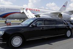 Xem siêu xe Putin kiêu hãnh lăn bánh