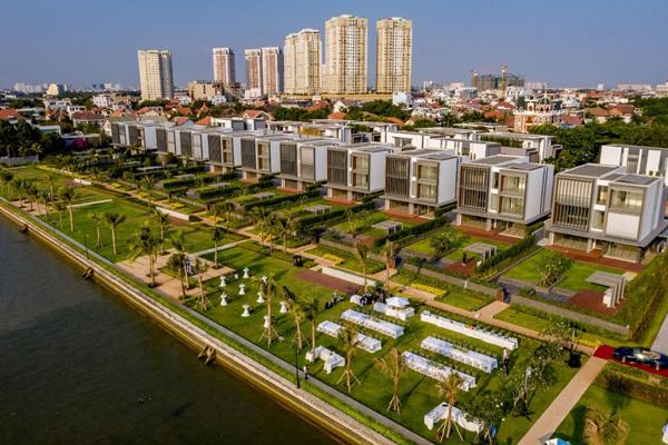 Phong cách sống thượng lưu tại biệt thự ven sông Sài Gòn