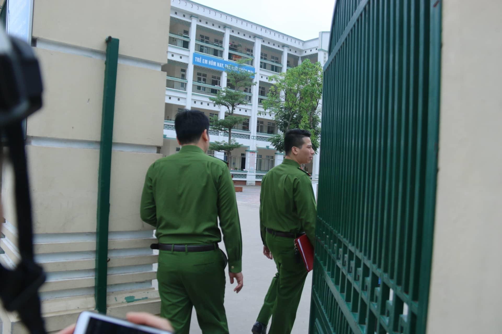 Trường Tiểu học Chu Văn An,bữa ăn bán trú,Thực phẩm bẩn