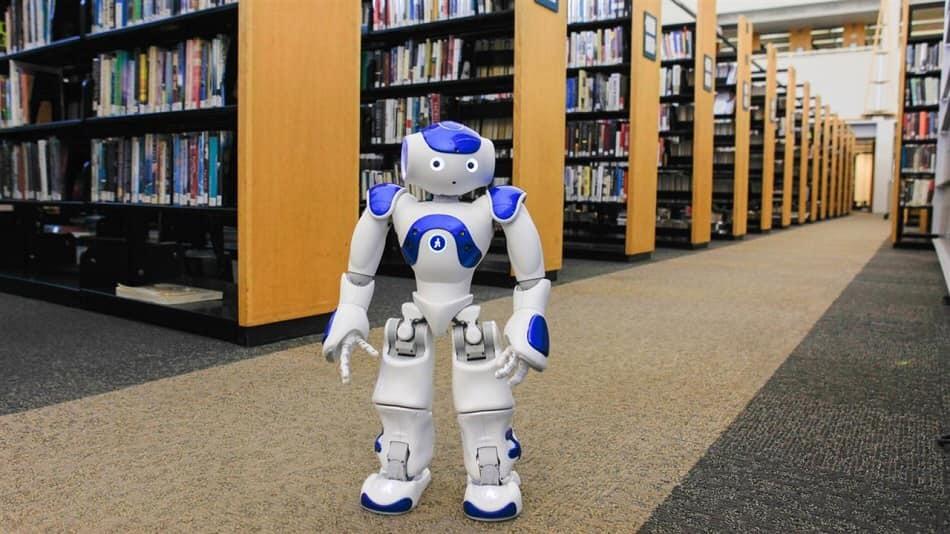 robot,thư viện,Cách mạng công nghiệp 4.0