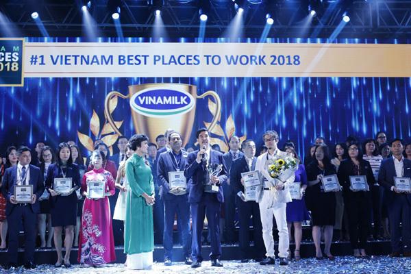 Vinamilk 2 năm liên tiếp là nơi làm việc tốt nhất Việt Nam