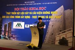 Việt Nam đẩy mạnh sản xuấtgạchkhông nung