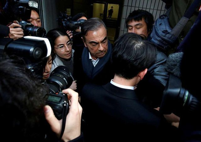 Cựu lãnh đạo Renault-Nissan lại bị bắt giữ