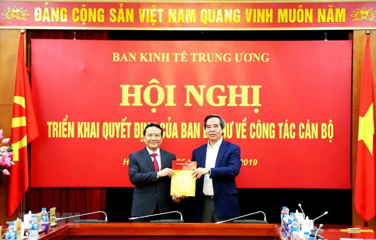 Ban bí thư bổ nhiệm Phó trưởng ban Kinh tế Trung ương
