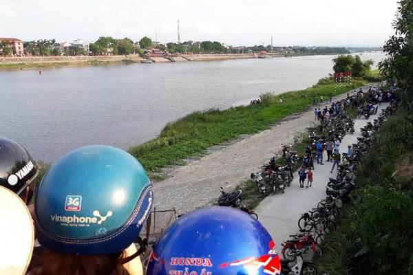 Tìm thấy thi thể học sinh giỏi cấp tỉnh trên sông Thạch Hãn