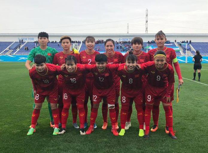 Hạ Jordan, tuyển nữ Việt Nam toàn thắng ở vòng loại Olympic 2020